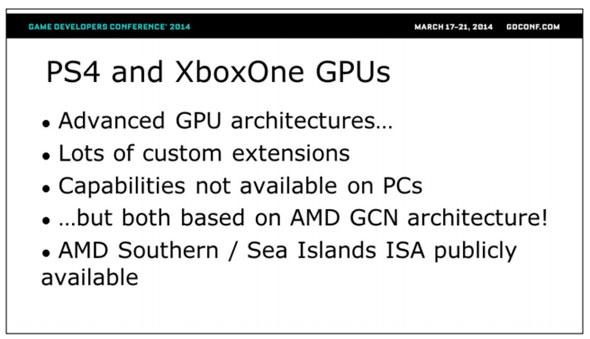 GPUs-consola