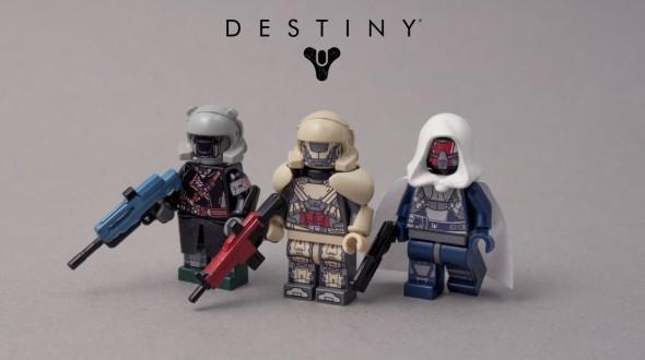 Destiny-Minifigs