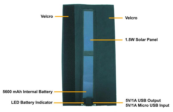 sunstrap bateria