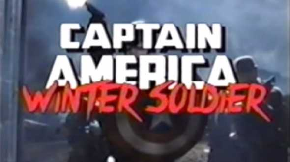 Captain America VHS
