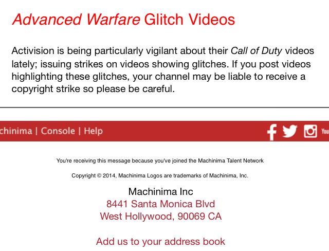 DMCA COD