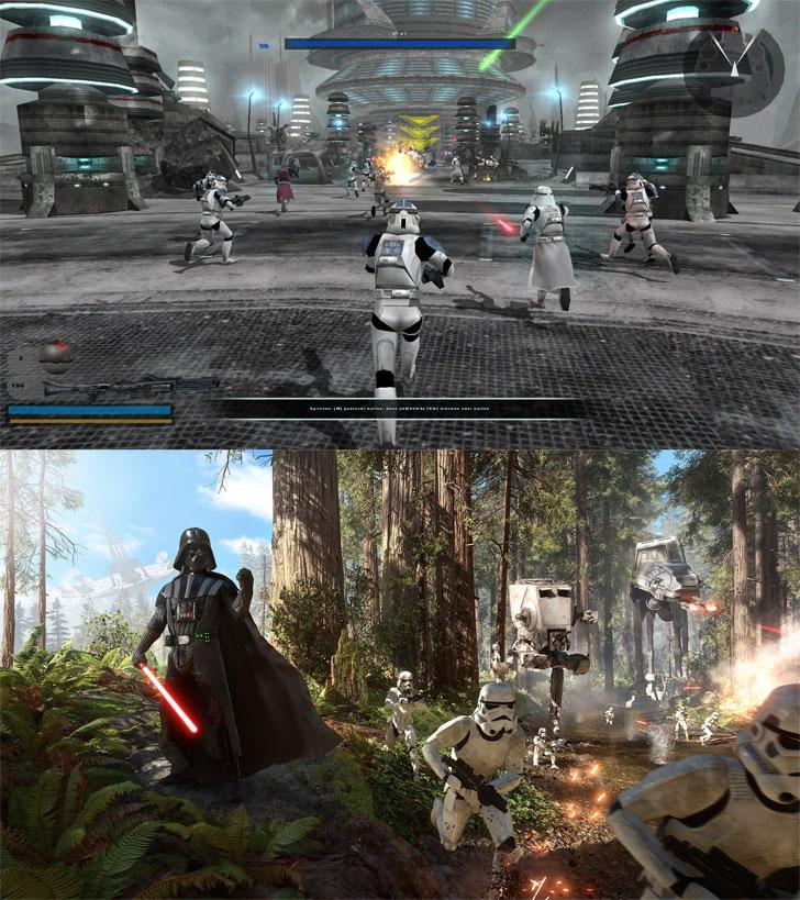 Battlefront2vsBattlefront